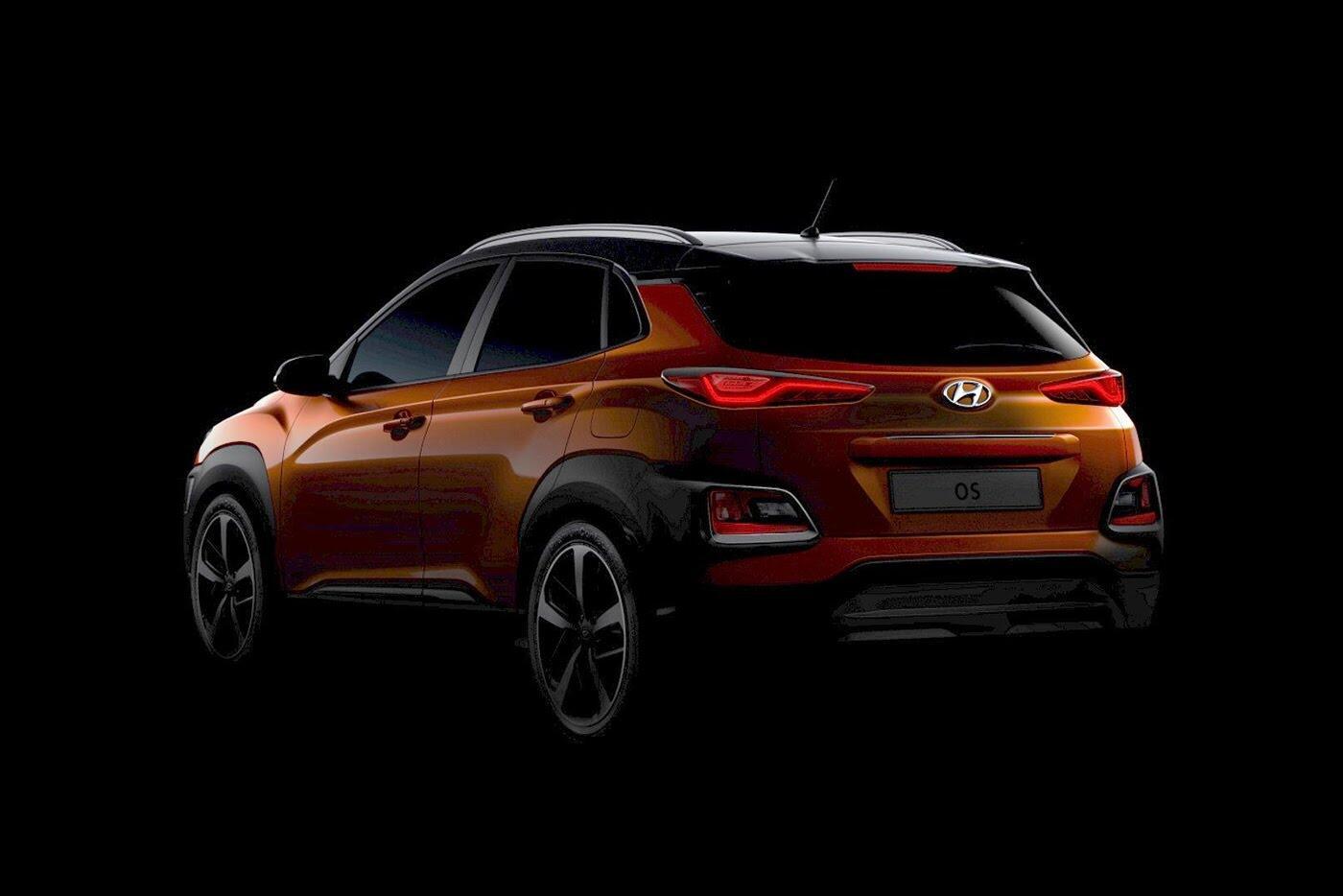 """Hyundai tiếp tục """"nhá hàng"""" SUV cỡ nhỏ Kona 2018 - Hình 1"""