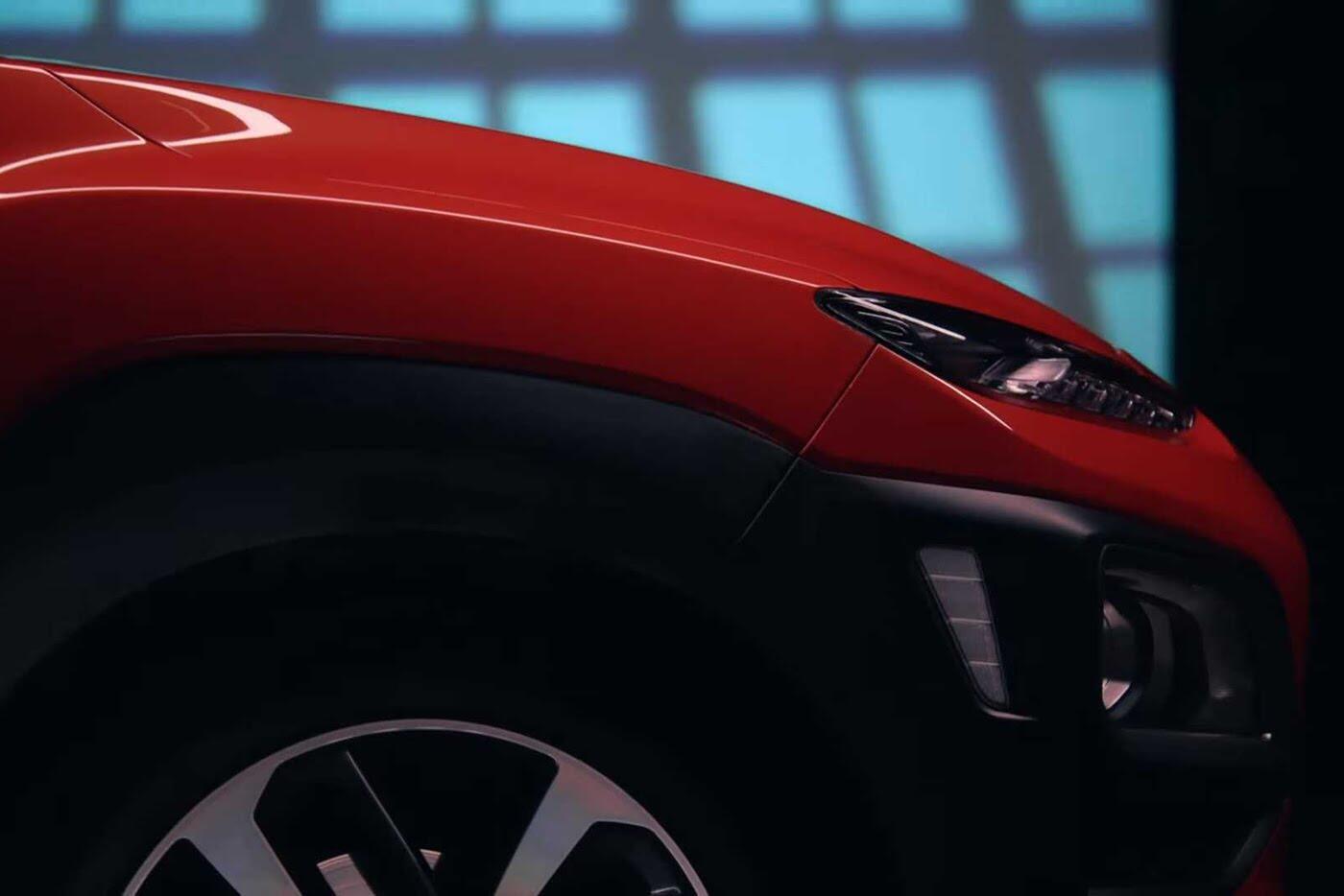 """Hyundai tiếp tục """"nhá hàng"""" SUV cỡ nhỏ Kona 2018 - Hình 2"""