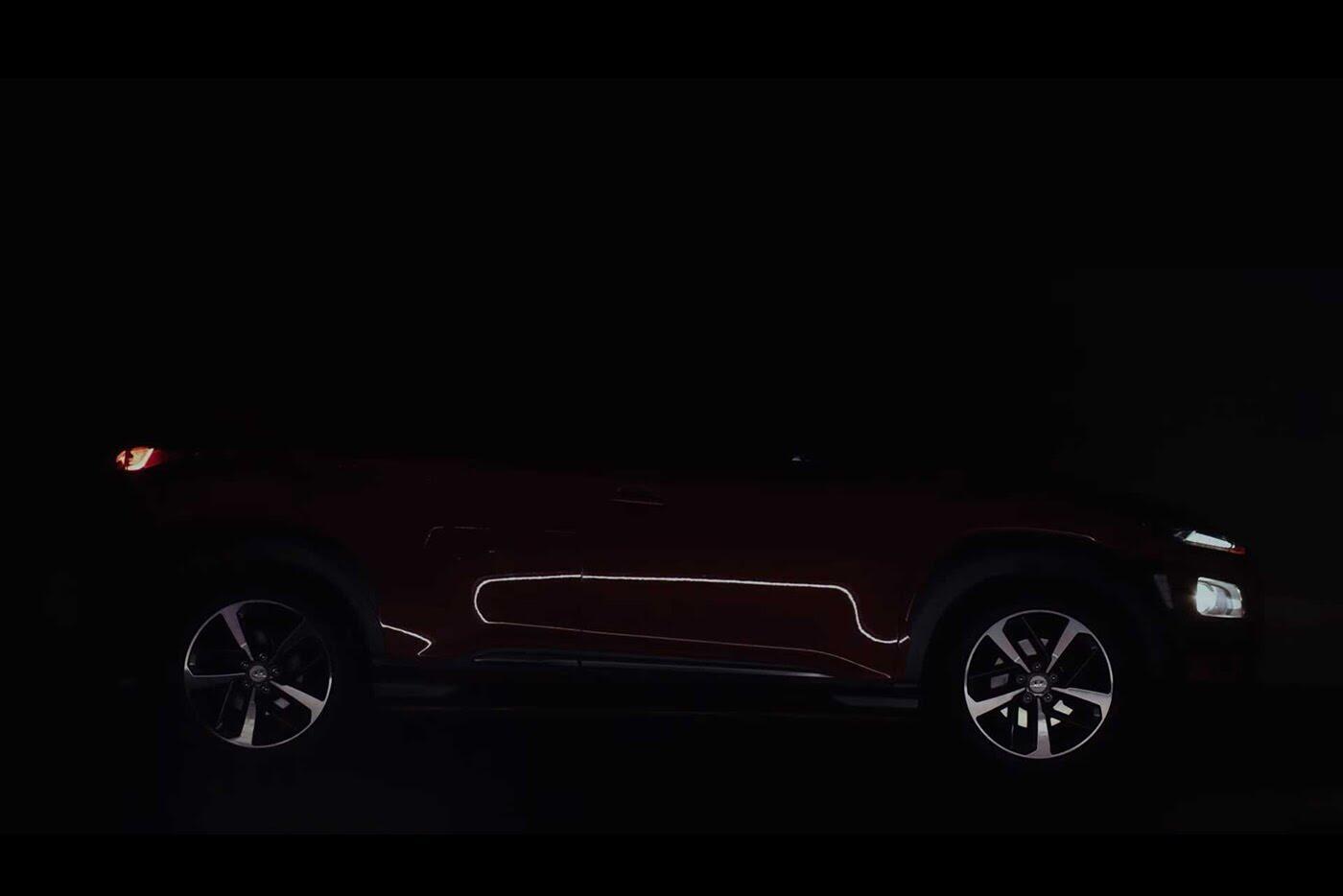 """Hyundai tiếp tục """"nhá hàng"""" SUV cỡ nhỏ Kona 2018 - Hình 3"""