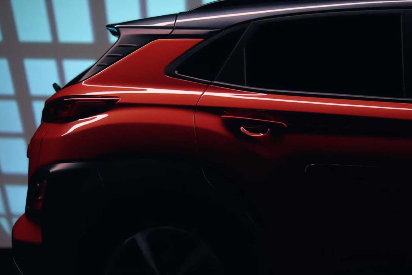 """Hyundai tiếp tục """"nhá hàng"""" SUV cỡ nhỏ Kona 2018 - Hình 4"""