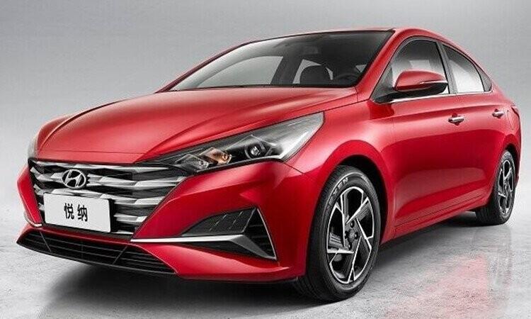 Hyundai Verna (Accent) 2020 giới thiệu tại Trung Quốc.