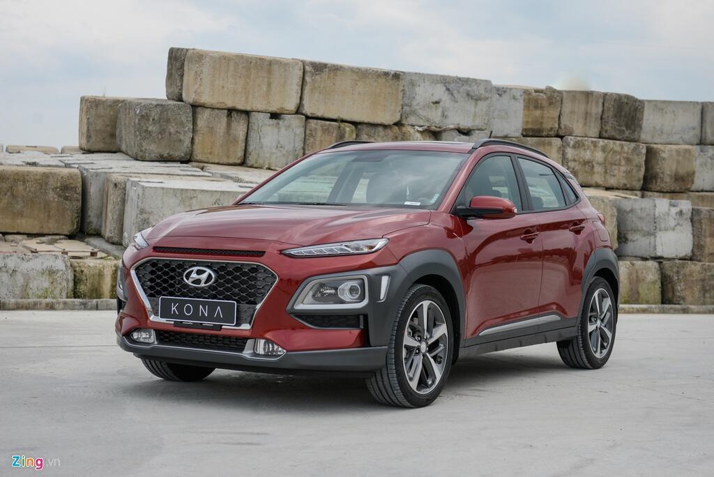 Hyundai Kona trở thành mẫu xe bán chạy nhất phân khúc SUV hạng B nhờ thiết kế hiện đại kèm mức giá không quá đắt. Ảnh: Thế Anh.