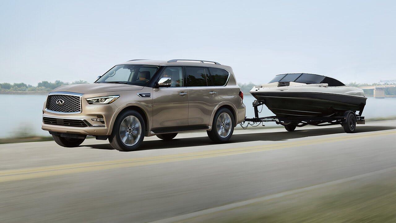 Infiniti QX80 2018 có giá từ 64.750 USD cạnh tranh với Lexus 570 và Mercedes GLS - Hình 3
