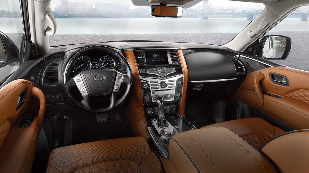 Infiniti QX80 2018 có giá từ 64.750 USD cạnh tranh với Lexus 570 và Mercedes GLS - Hình 4