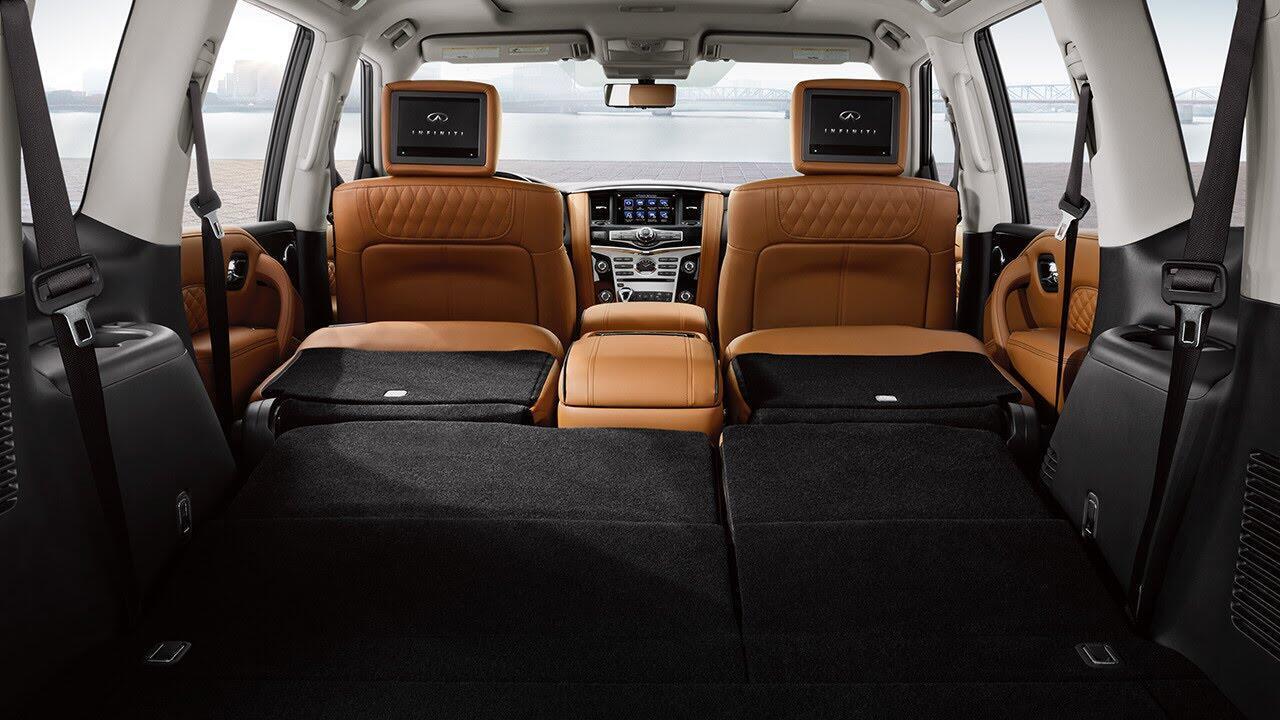 Infiniti QX80 2018 có giá từ 64.750 USD cạnh tranh với Lexus 570 và Mercedes GLS - Hình 5