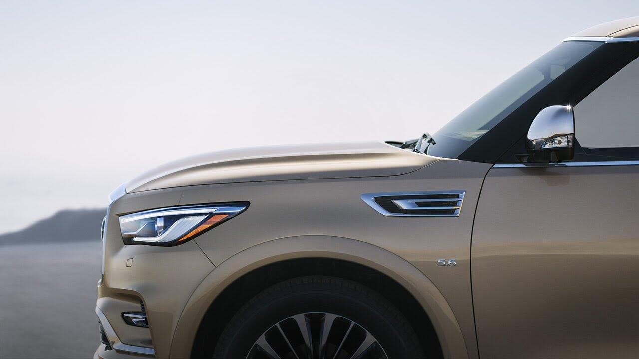 Infiniti QX80 2018 có giá từ 64.750 USD cạnh tranh với Lexus 570 và Mercedes GLS - Hình 15