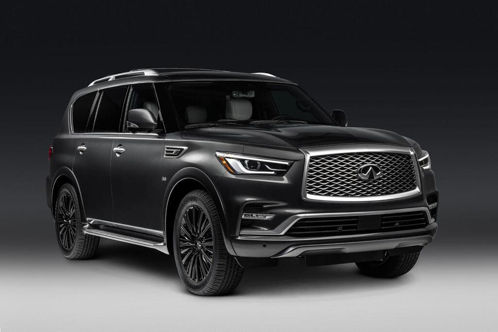 Infiniti QX80 Limited 2019 giá 90.000 USD, đe dọa Lexus LX570 - Hình 1