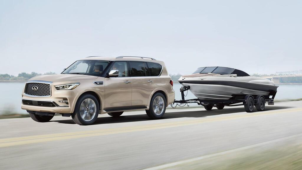 Infiniti QX80 Limited 2019 giá 90.000 USD, đe dọa Lexus LX570 - Hình 10