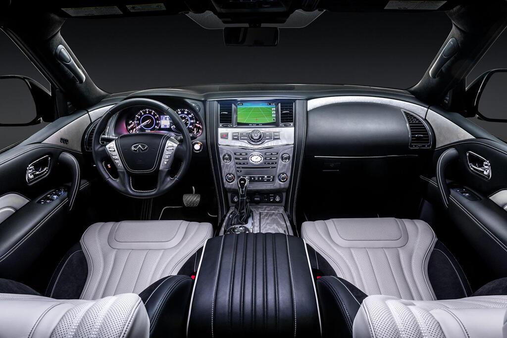 Infiniti QX80 Limited 2019 giá 90.000 USD, đe dọa Lexus LX570 - Hình 4