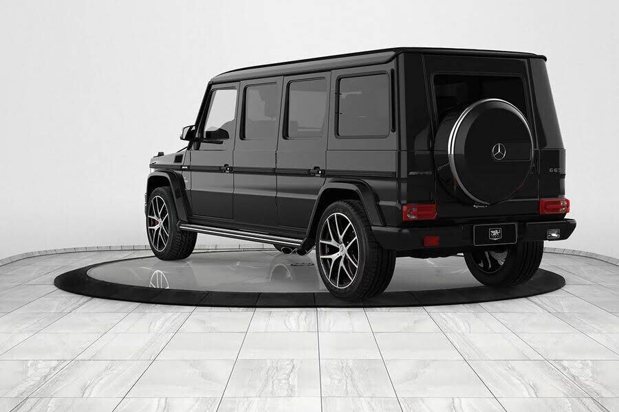 Inkas biến xe địa hình Mercedes-AMG G63 thành limo sang trọng trị giá 1,2 triệu đô - Hình 3
