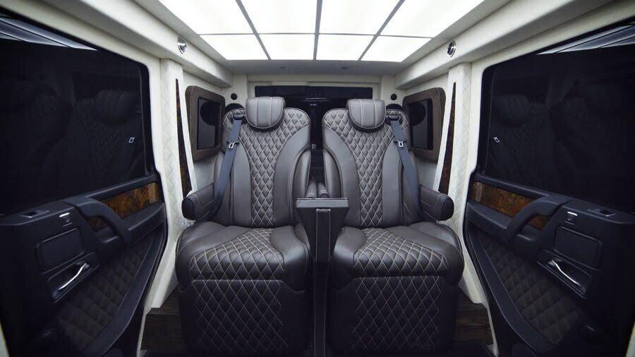 Inkas biến xe địa hình Mercedes-AMG G63 thành limo sang trọng trị giá 1,2 triệu đô - Hình 4
