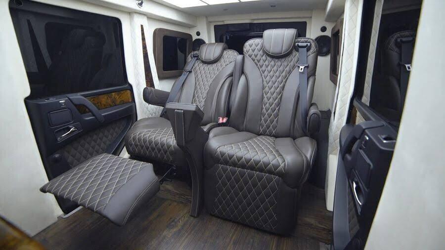Inkas biến xe địa hình Mercedes-AMG G63 thành limo sang trọng trị giá 1,2 triệu đô - Hình 6
