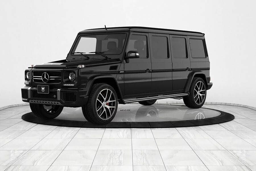 Inkas biến xe địa hình Mercedes-AMG G63 thành limo sang trọng trị giá 1,2 triệu đô - Hình 8