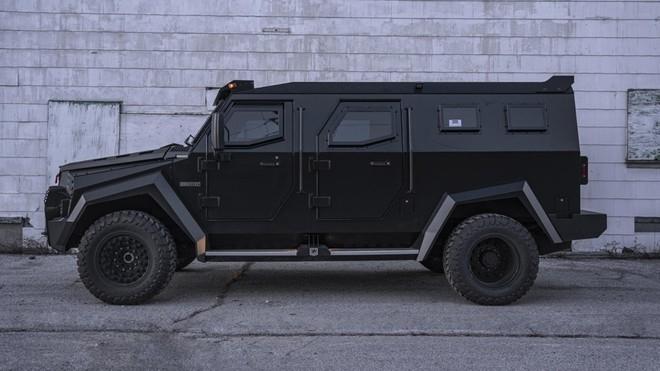 Inkas Sentry Civilian - xe chống đạn cho giới nhà giàu