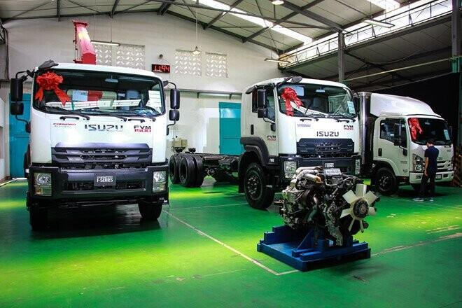 Isuzu ra mắt thế hệ xe tải tiêu chuẩn Euro4 đầu tiên ở VN - Hình 3