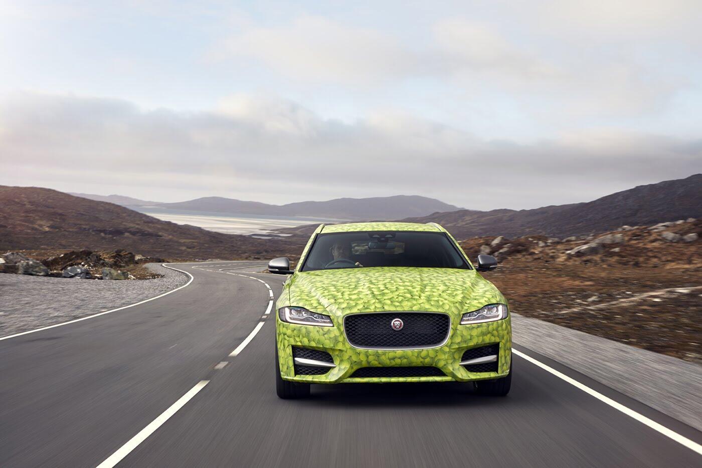 Jaguar sắp ra mắt mẫu xe kiểu wagon độc đáo - Hình 2