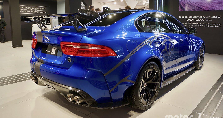 Jaguar XE SV Project 8 mạnh 592 mã lực, sản xuất chỉ 300 chiếc - Hình 2