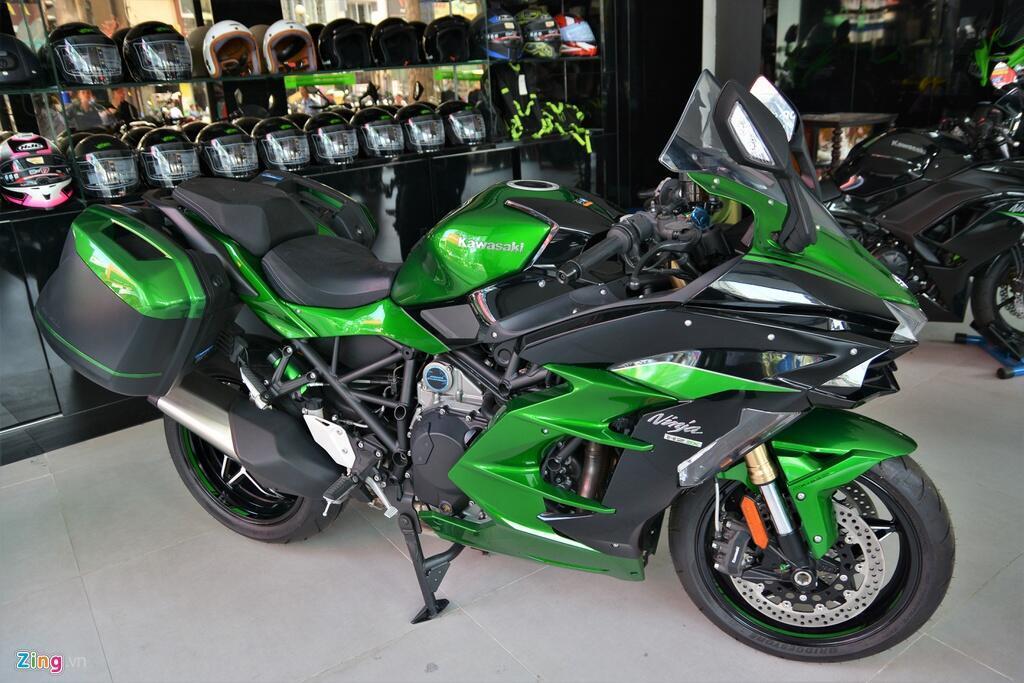 Kawasaki Ninja H2 SX SE gia gan 1 ty dong tai VN hinh anh 1 1_H2SX_zing.jpg