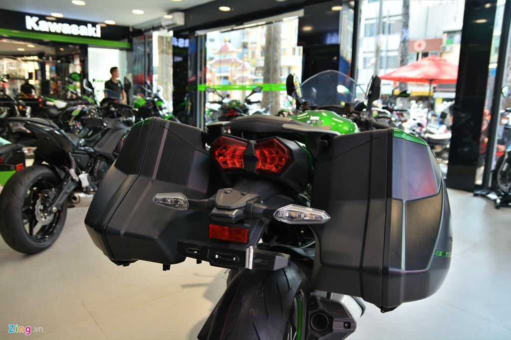 Kawasaki Ninja H2 SX SE gia gan 1 ty dong tai VN hinh anh 12 12_H2SX_zing.jpg