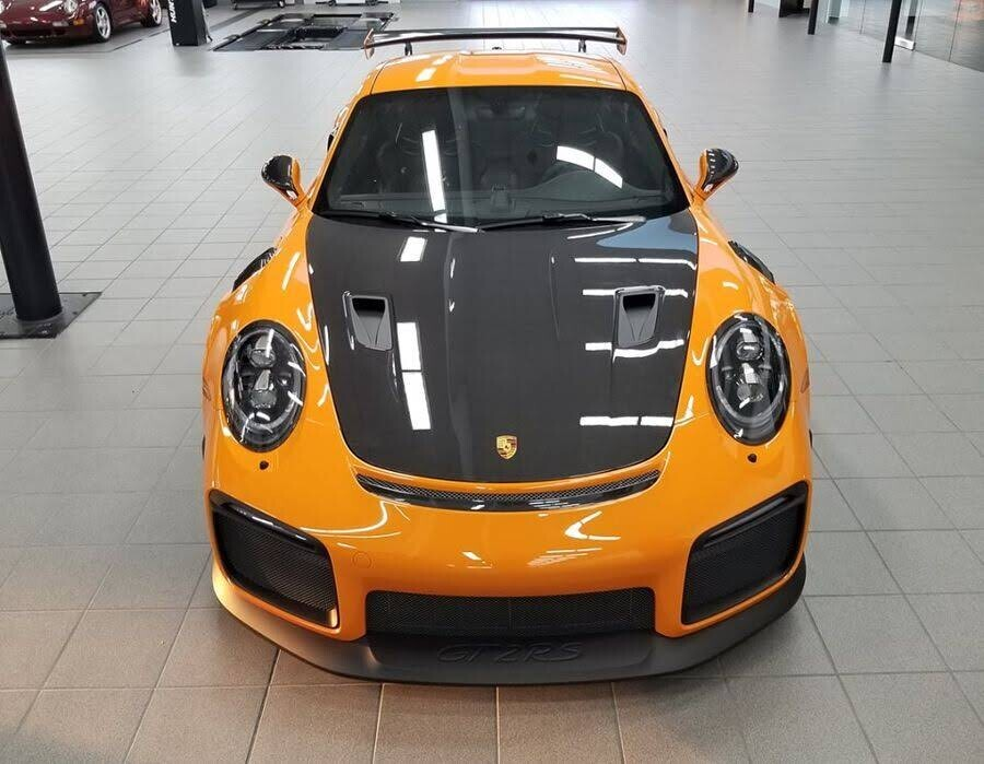 Khoác áo cam Pastel Orange, Porsche 911 GT2 RS 2018 xuất hiện như siêu sao ở Texas - Hình 5