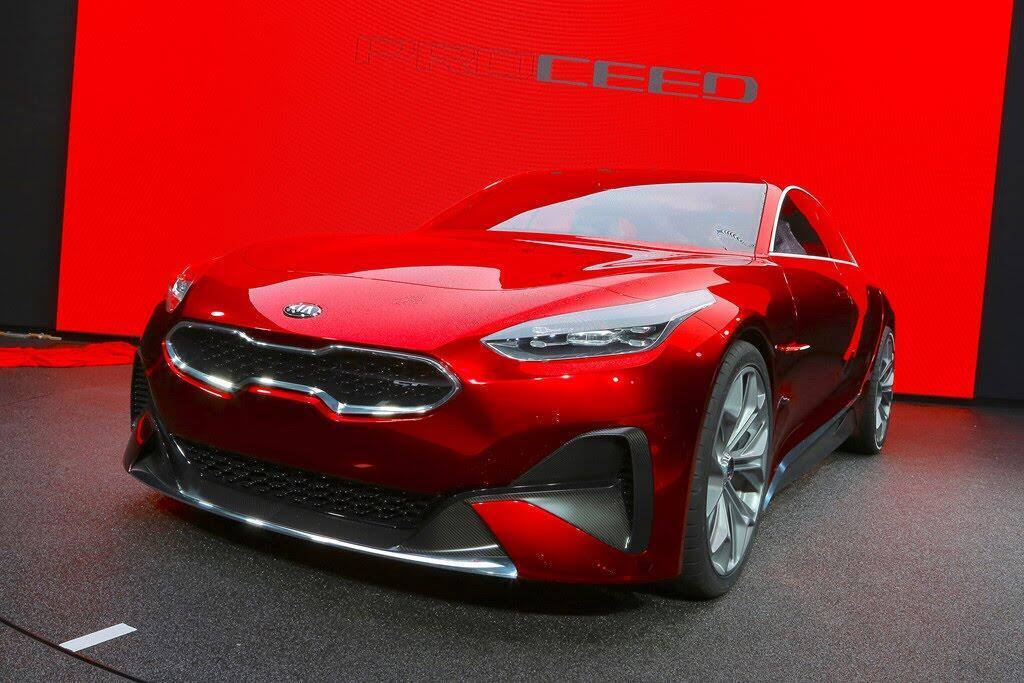 Kia giới thiệu xe thể thao Proceed Concept - Hình 1