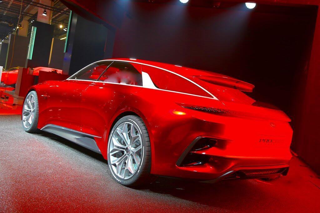 Kia giới thiệu xe thể thao Proceed Concept - Hình 3