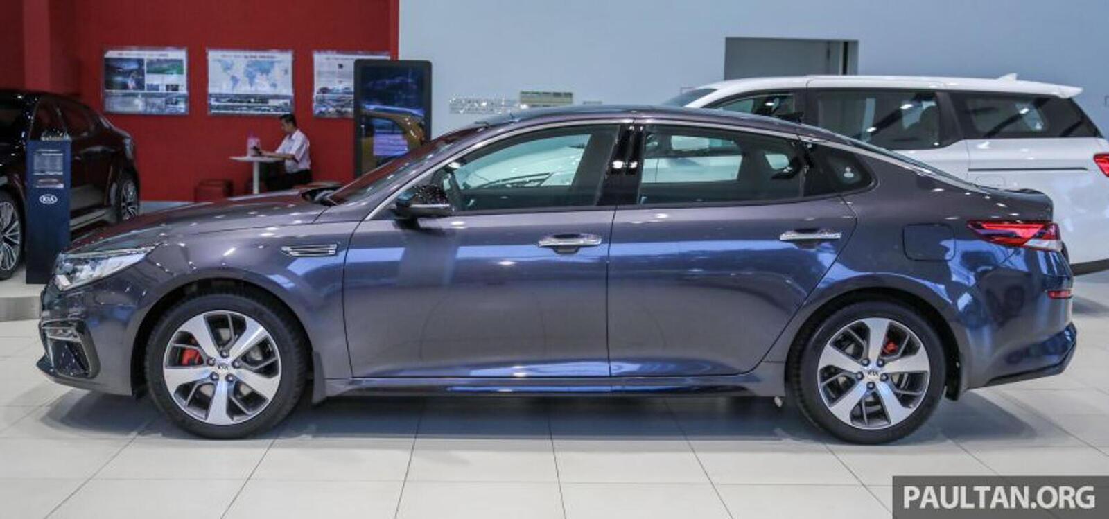 Kia Optima phiên bản nâng cấp facelift mới nhất đã có mặt tại Việt Nam - Hình 10