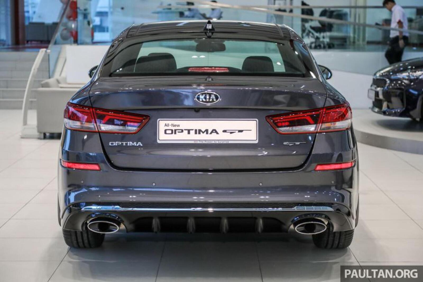Kia Optima phiên bản nâng cấp facelift mới nhất đã có mặt tại Việt Nam - Hình 11