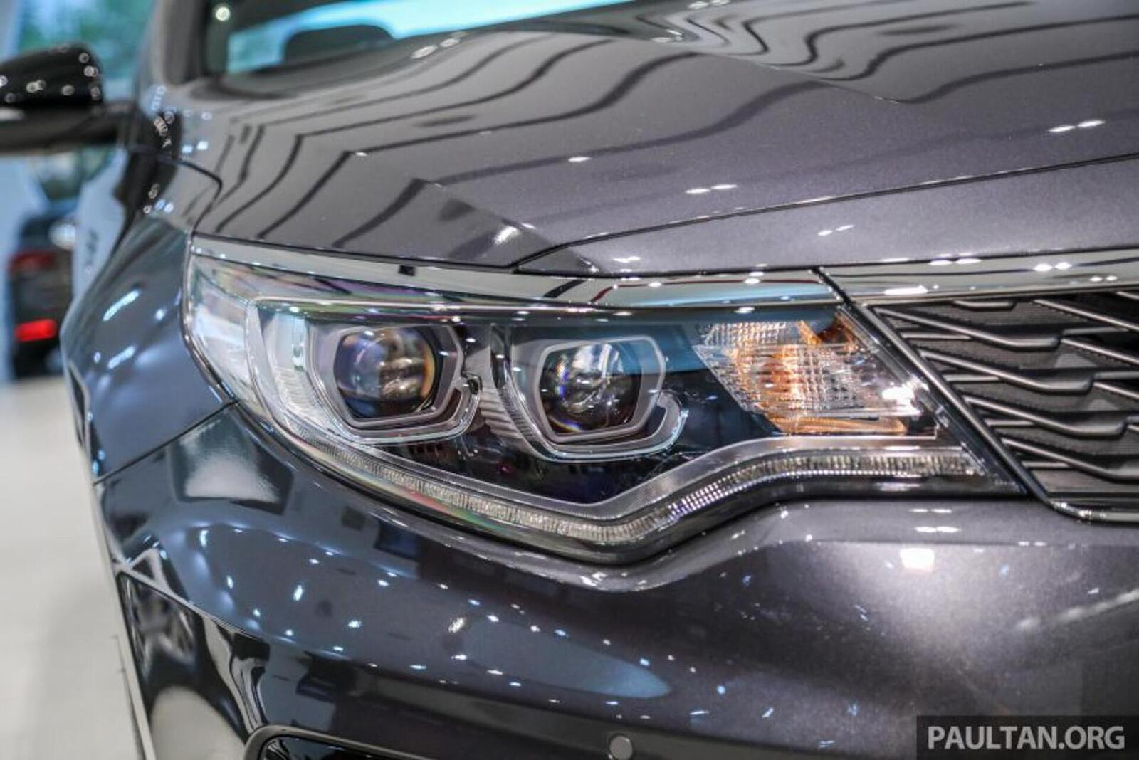 Kia Optima phiên bản nâng cấp facelift mới nhất đã có mặt tại Việt Nam - Hình 12