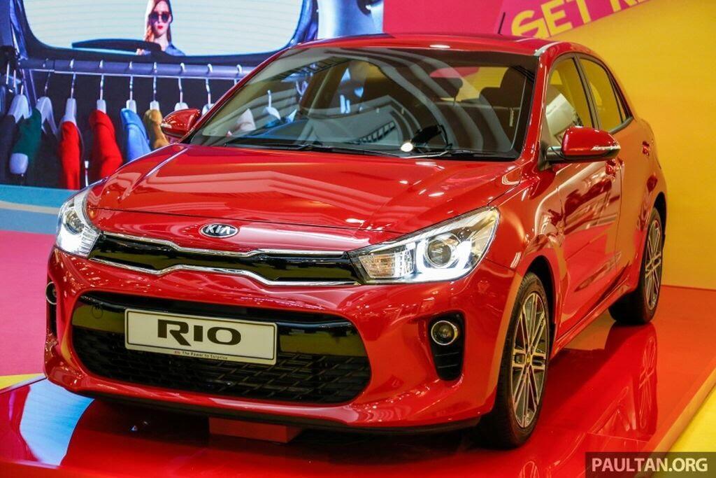 Kia Rio Hatchback 2017 ra mắt thị trường Malaysia với giá từ 424 triệu VNĐ - Hình 1