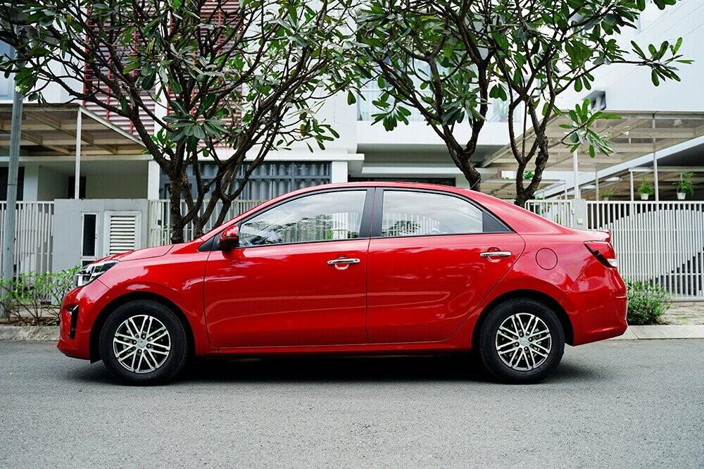 Hơn 6.000 Kia Soluto đã bán ra tại thị trường Việt Nam.
