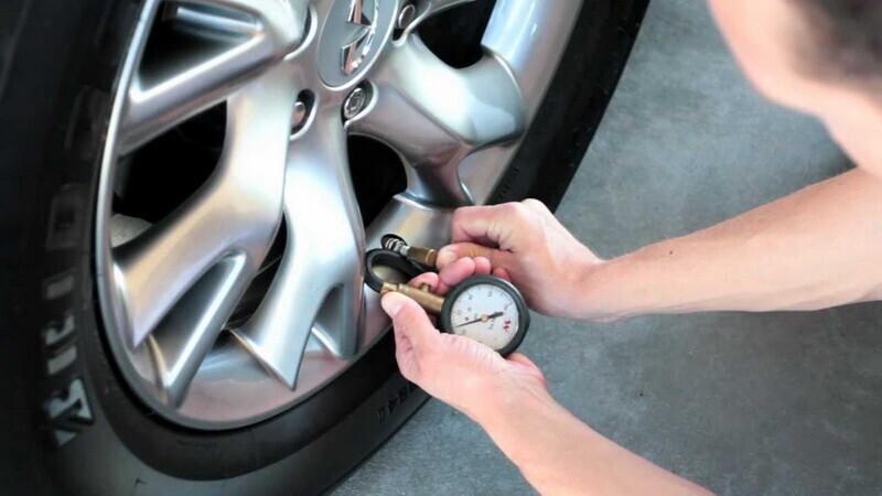 Kiểm tra độ an toàn của lốp xe khi vào cao tốc