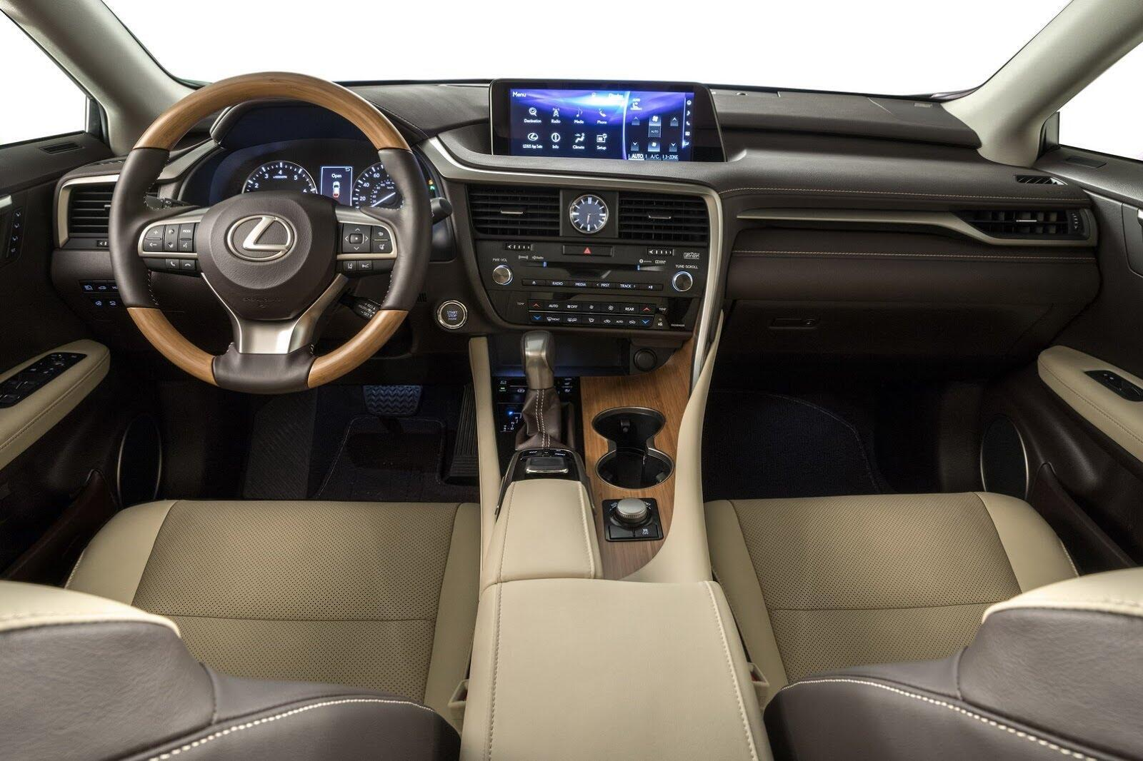 [LAAS 2017] Lexus RXL 2018 ba hàng ghế, 7 chỗ, có giá bán từ 47.000 USD tại Mỹ - Hình 3