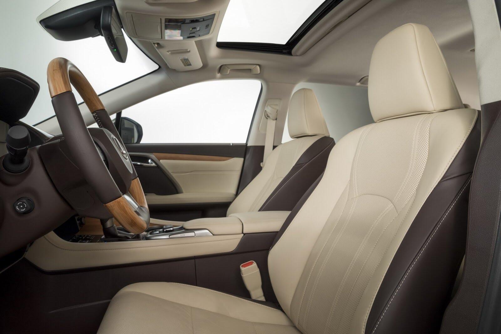 [LAAS 2017] Lexus RXL 2018 ba hàng ghế, 7 chỗ, có giá bán từ 47.000 USD tại Mỹ - Hình 5