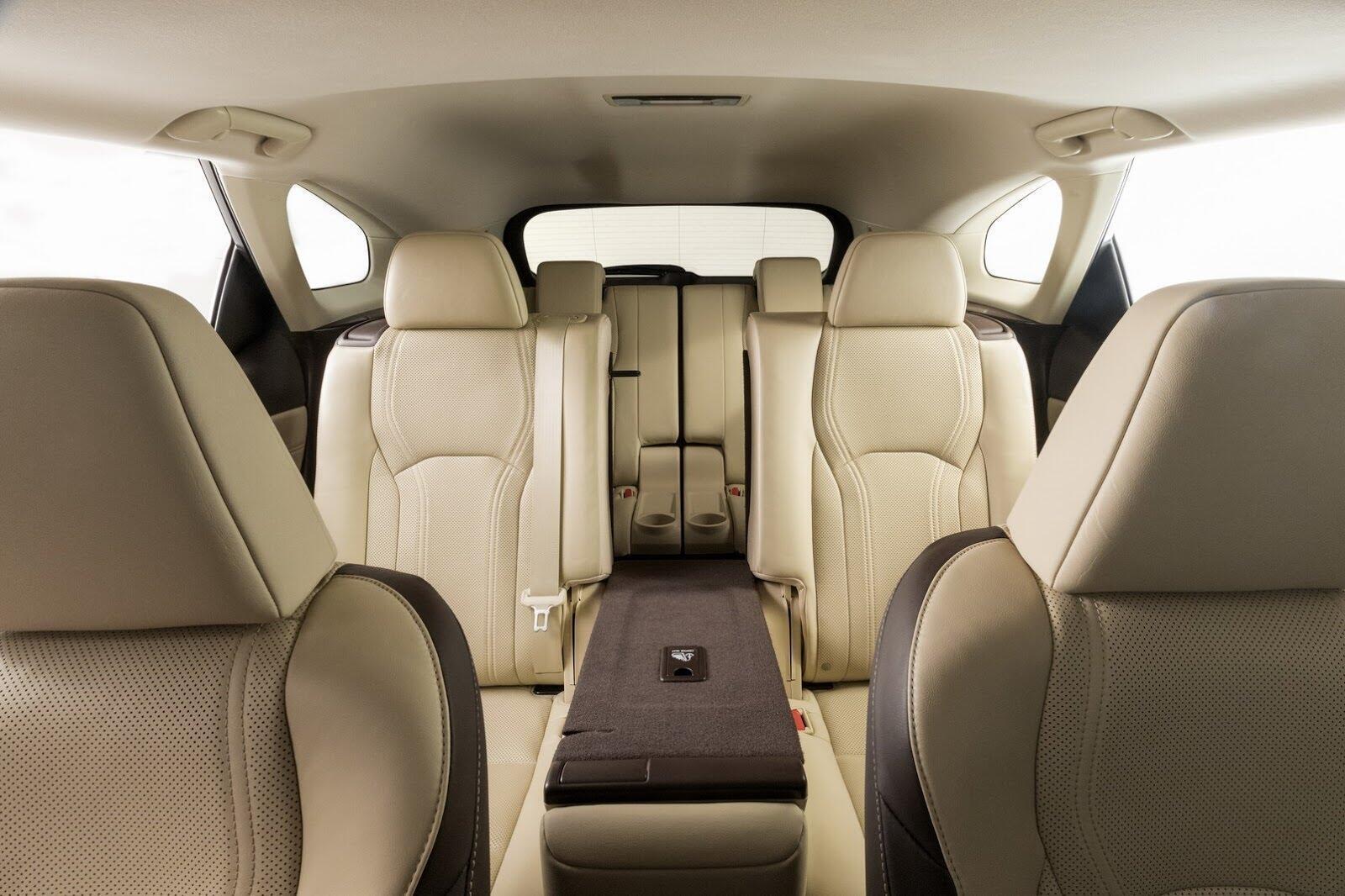 [LAAS 2017] Lexus RXL 2018 ba hàng ghế, 7 chỗ, có giá bán từ 47.000 USD tại Mỹ - Hình 6