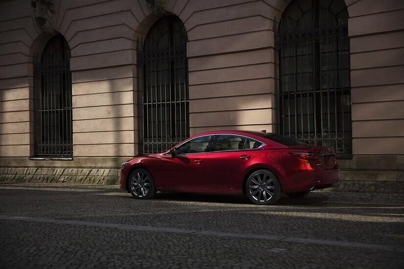 [LAAS 2017] Mazda 6 2018: đẹp hơn, mạnh hơn, công suất 250 mã lực - Hình 11