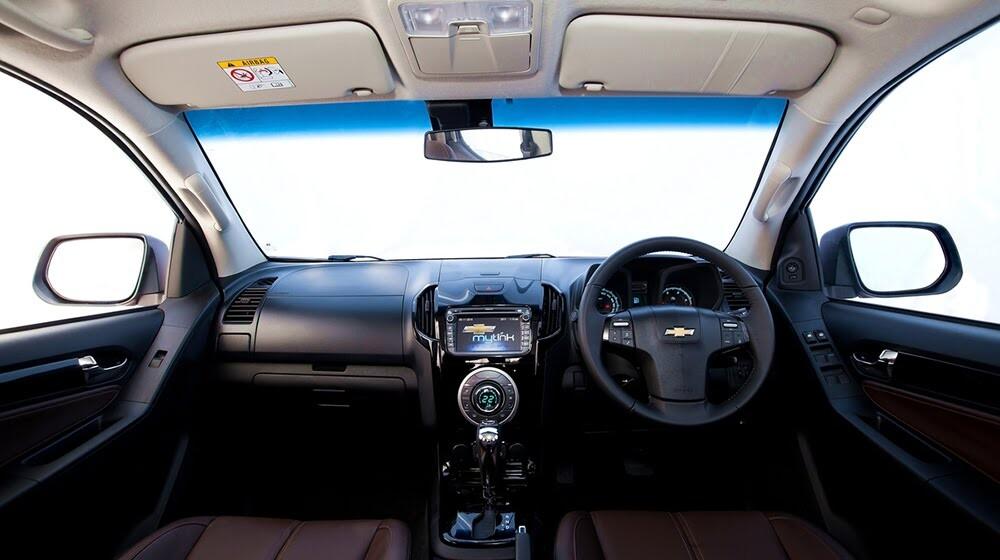 Lái thử Chevrolet Colorado High Country trên đất Thái - Hình 3