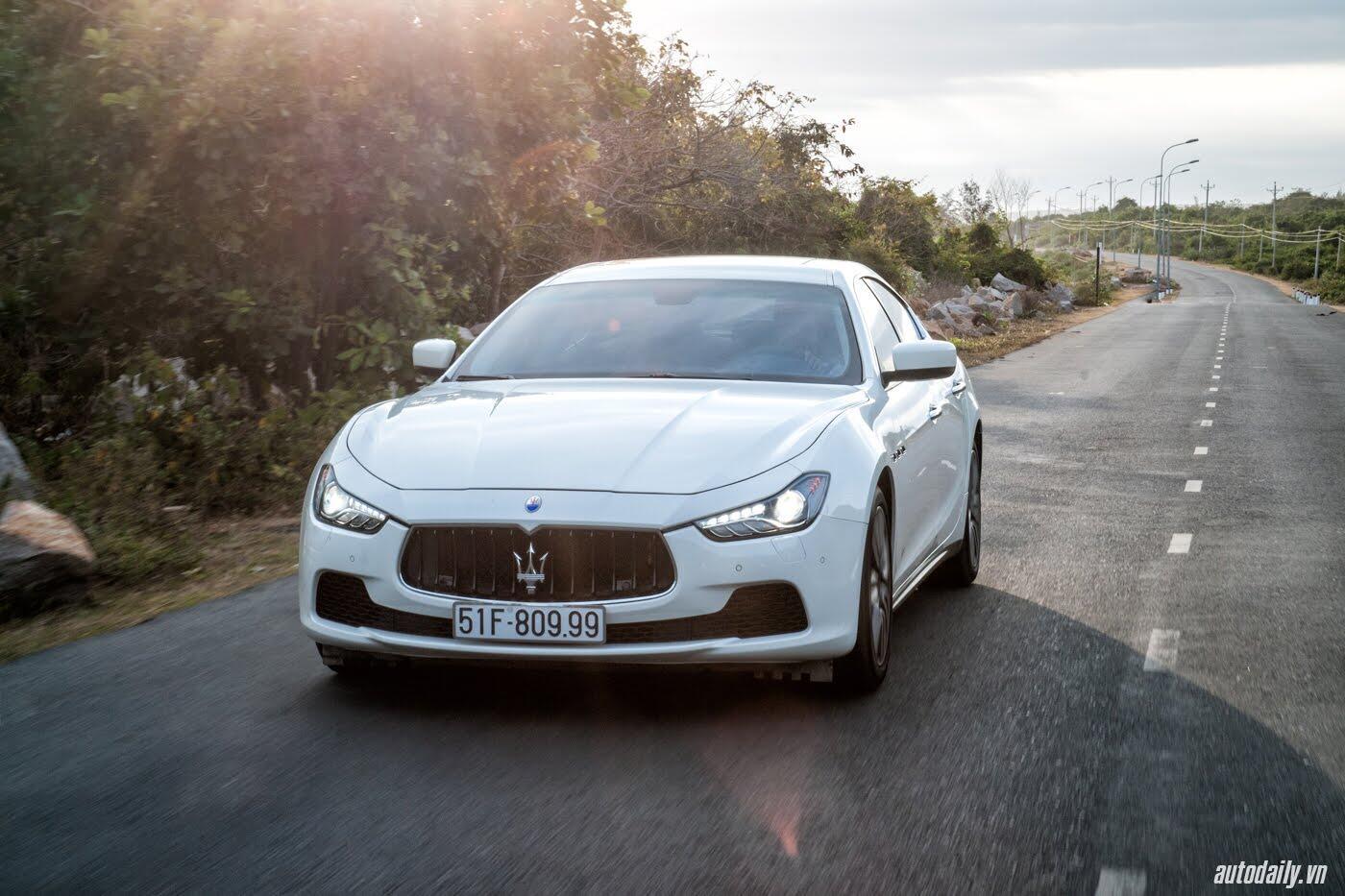 Lái thử Maserati Ghibli - Một trải nghiệm khác về tốc độ - Hình 1