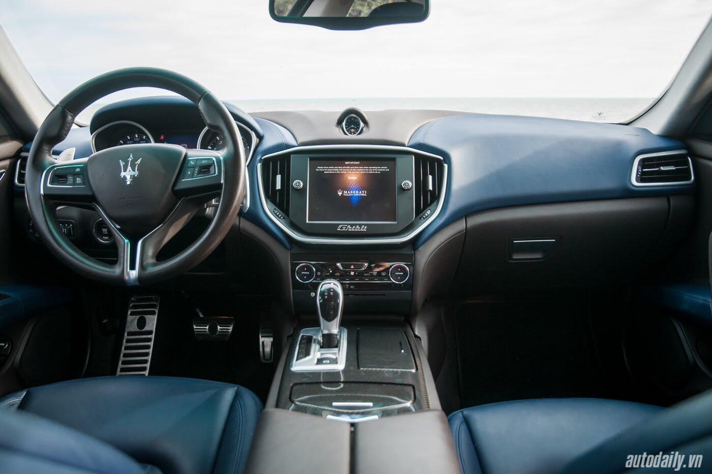 Lái thử Maserati Ghibli - Một trải nghiệm khác về tốc độ - Hình 5