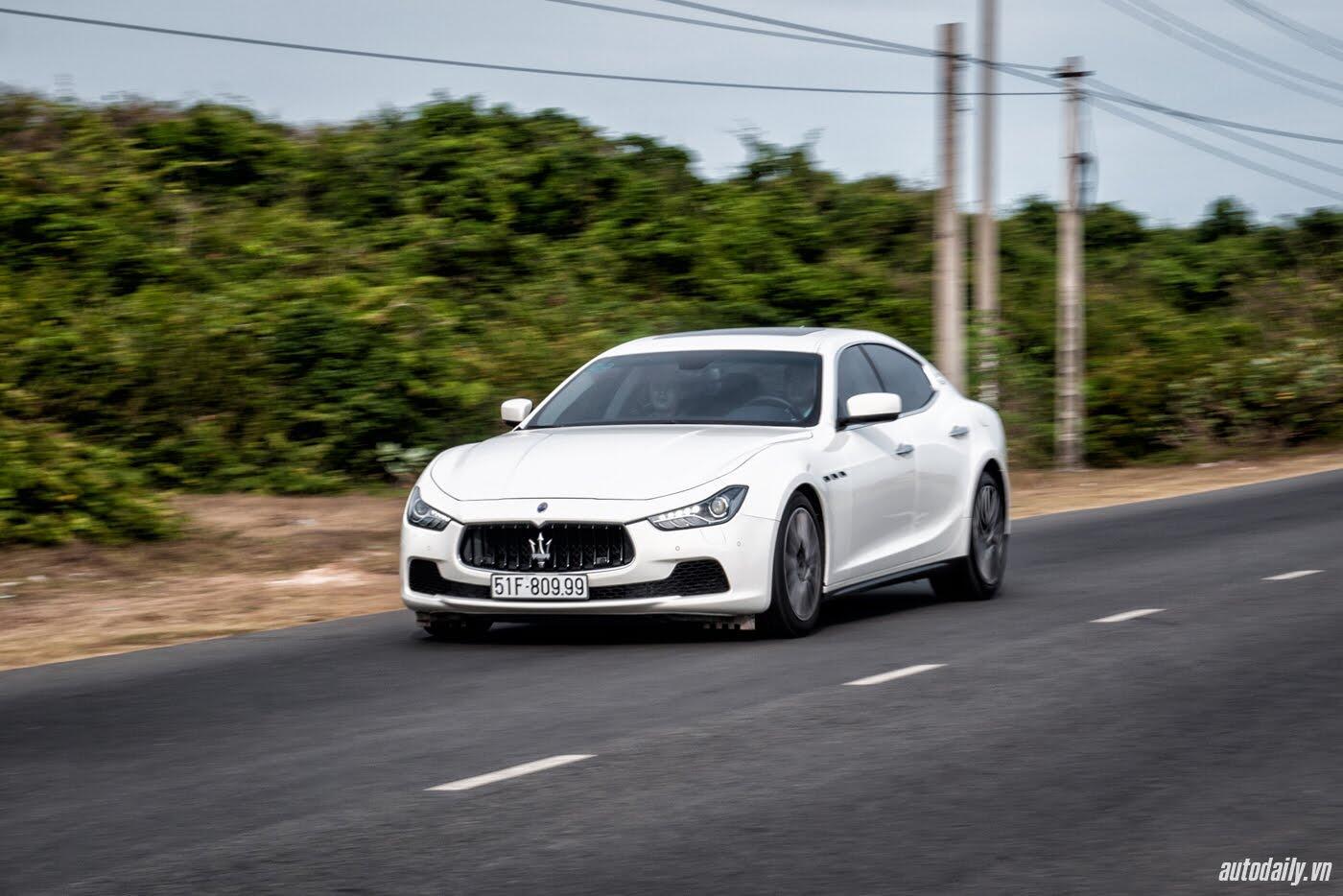 Lái thử Maserati Ghibli - Một trải nghiệm khác về tốc độ - Hình 6