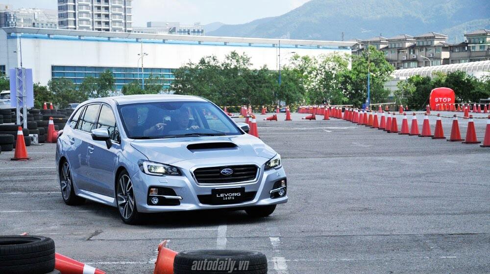 Lái thử Subaru Levorg trên đất bạn - Hình 1