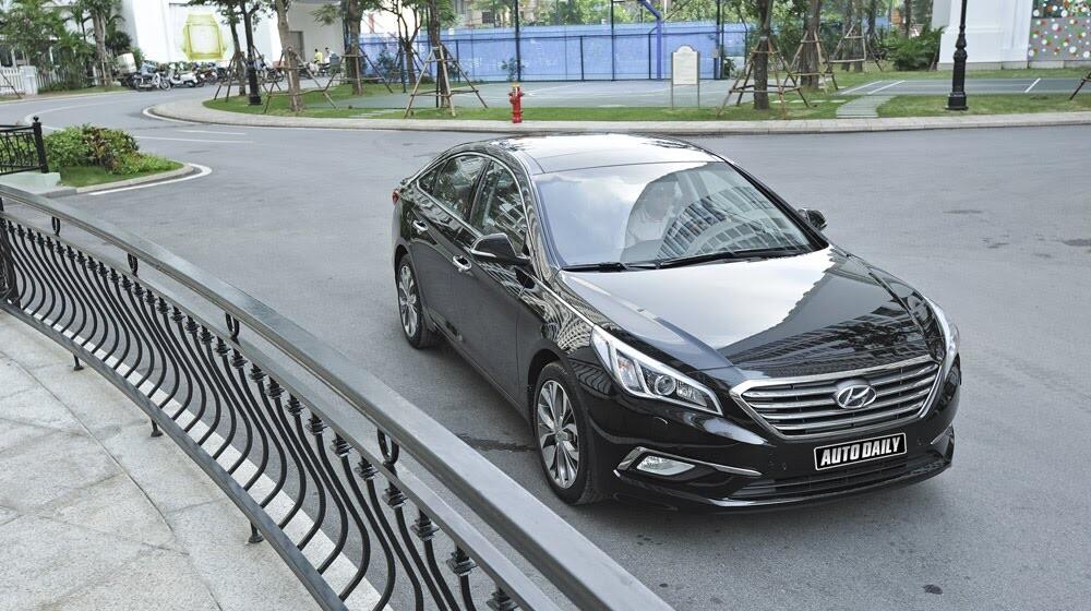 """""""Làm mới"""" mình Hyundai Sonata 2015 """"doạ"""" các đối thủ? - Hình 1"""