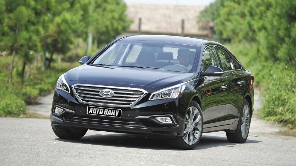 """""""Làm mới"""" mình Hyundai Sonata 2015 """"doạ"""" các đối thủ? - Hình 2"""