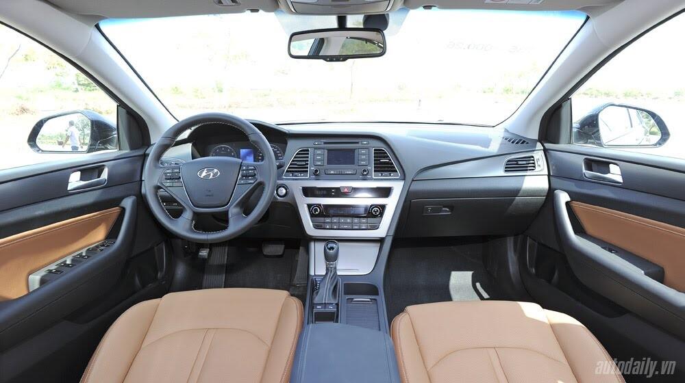 """""""Làm mới"""" mình Hyundai Sonata 2015 """"doạ"""" các đối thủ? - Hình 12"""