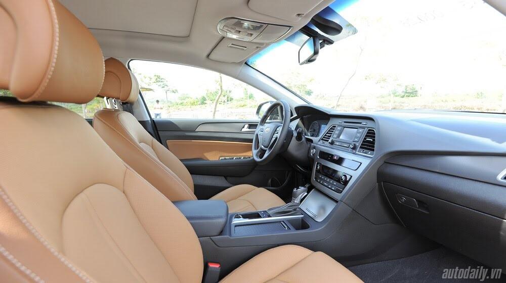 """""""Làm mới"""" mình Hyundai Sonata 2015 """"doạ"""" các đối thủ? - Hình 13"""