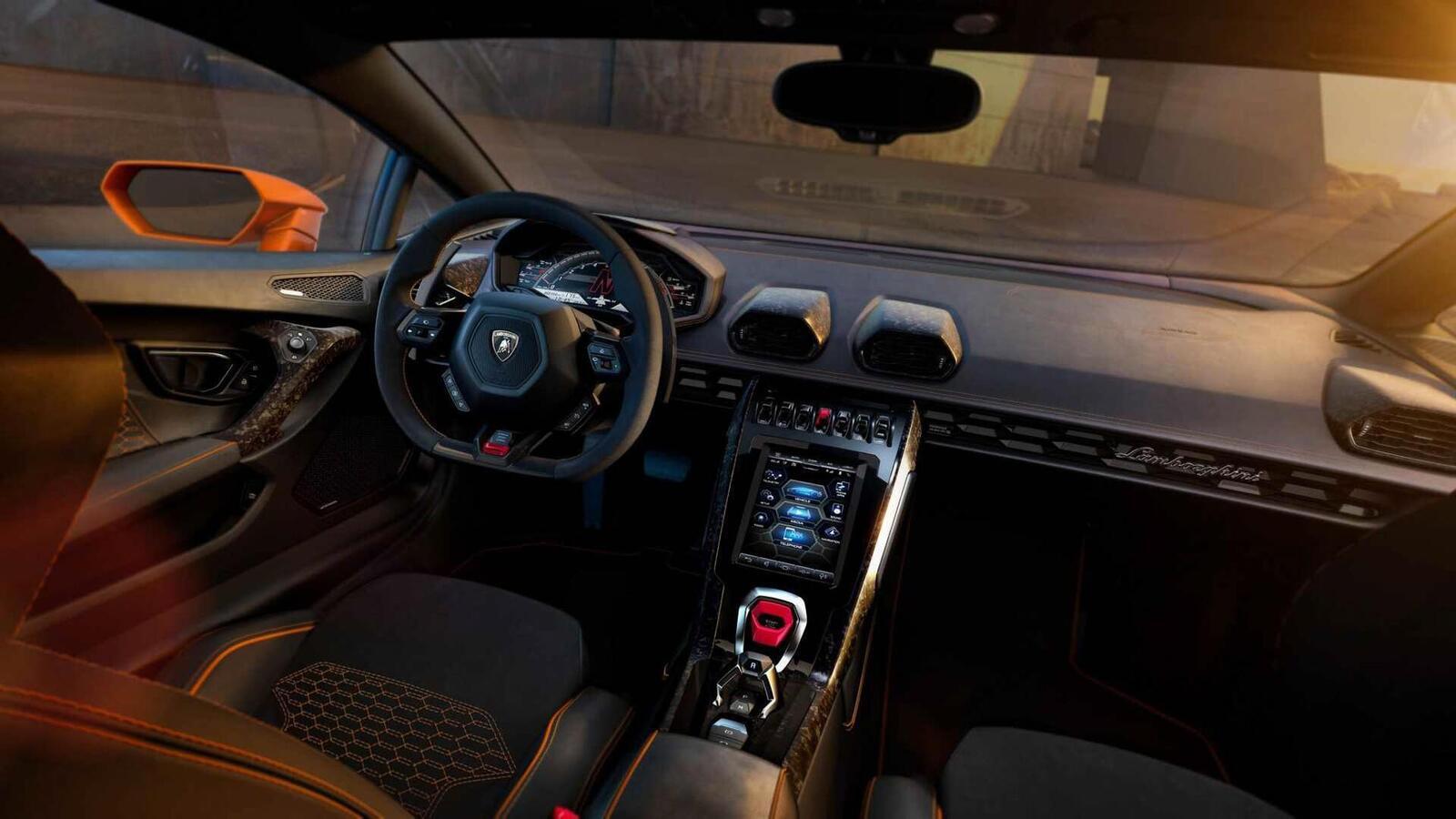 Lamborghini giới thiệu Huracan EVO mới với sức mạnh 640 mã lực - Hình 8