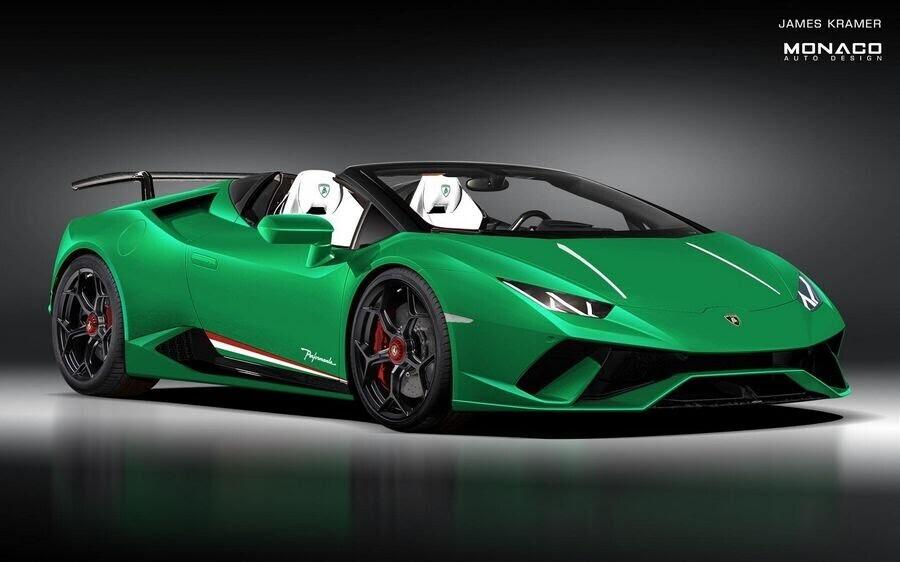 Lamborghini Huracan Performante Spyder trông sẽ như thế nào ? - Hình 1