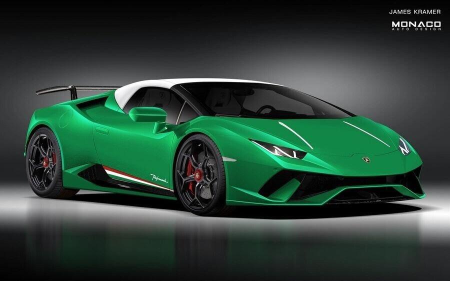 Lamborghini Huracan Performante Spyder trông sẽ như thế nào ? - Hình 2