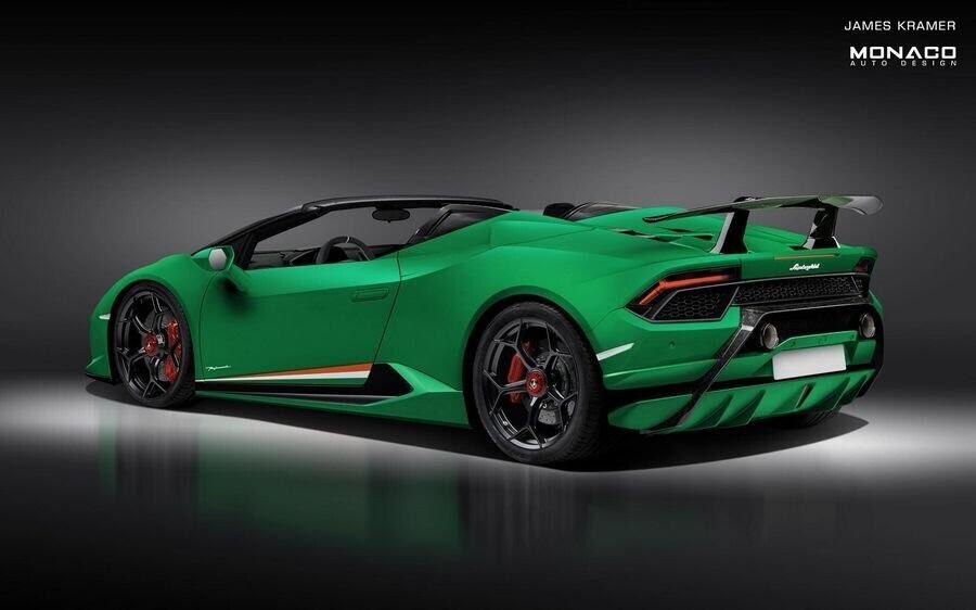Lamborghini Huracan Performante Spyder trông sẽ như thế nào ? - Hình 3