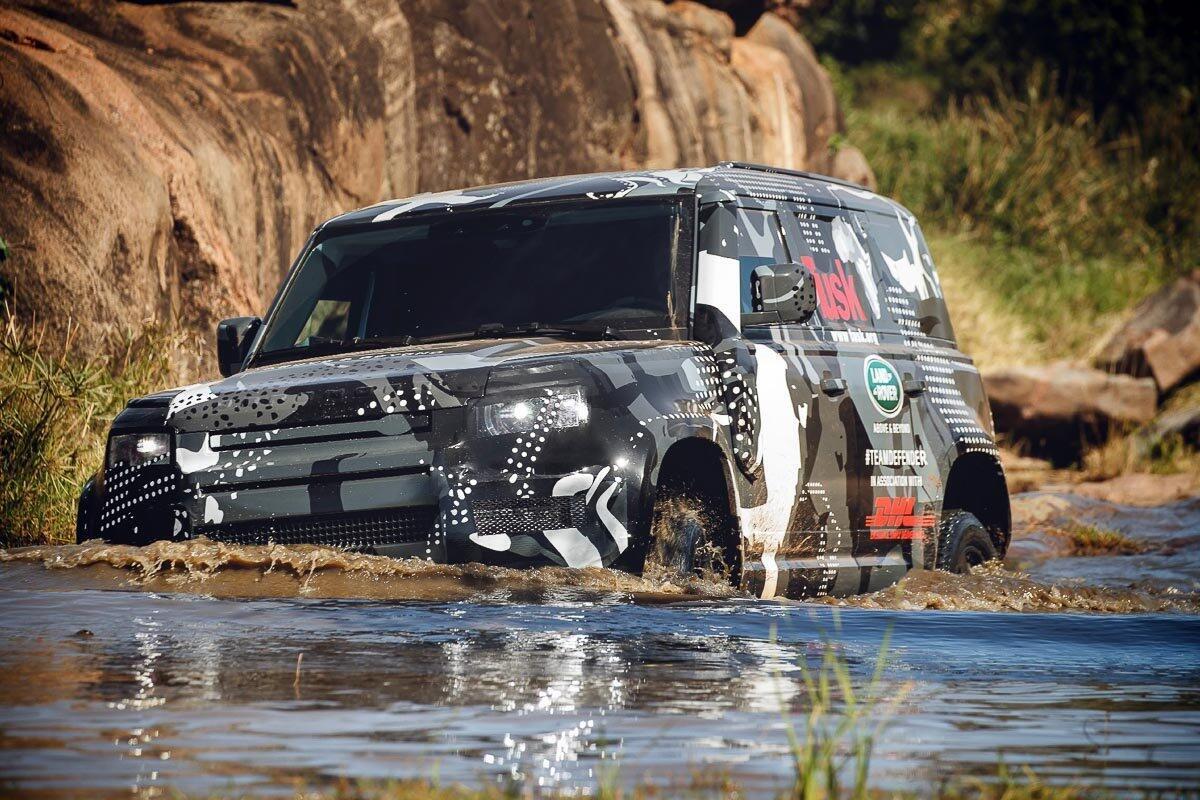 Land Rover Defender 2020 thử thách sức bền tại Kenya, chuẩn bị ra mắt trong năm nay - Hình 1